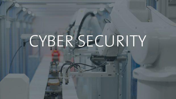 Cybersicherheit in einem Gewebe