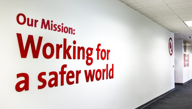 Working for a safer world
